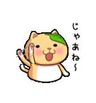 ぽっちゃりたれ耳ミカンネコ(個別スタンプ:06)
