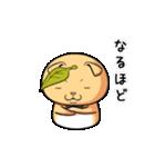 ぽっちゃりたれ耳ミカンネコ(個別スタンプ:34)