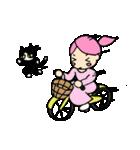 無愛想ネコと女の子(個別スタンプ:12)