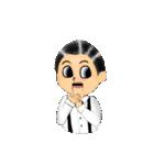 腹話術人形のマイケル(個別スタンプ:05)
