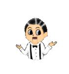 腹話術人形のマイケル(個別スタンプ:06)