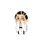 腹話術人形のマイケル(個別スタンプ:08)