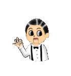 腹話術人形のマイケル(個別スタンプ:20)