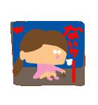 リアクションの女の子3(個別スタンプ:16)