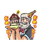 「アルプスの少女ハイジ」ちゃらおんじ編3(個別スタンプ:14)