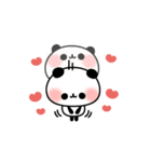 おでかけパンダちゃん(個別スタンプ:11)