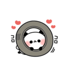 おでかけパンダちゃん(個別スタンプ:40)