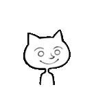 いろんな顔のネコさん(個別スタンプ:01)