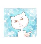 いろんな顔のネコさん(個別スタンプ:03)