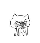 いろんな顔のネコさん(個別スタンプ:08)