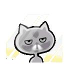 いろんな顔のネコさん(個別スタンプ:09)