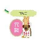 土佐弁好きウサギ応援高知隊(翻訳あり)(個別スタンプ:20)