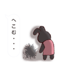 うさぎとハリ3(ふきだし)(個別スタンプ:28)