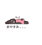 うさぎとハリ3(ふきだし)(個別スタンプ:36)