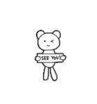 クマのポコちゃん 出会いと別れの春編(個別スタンプ:19)