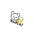 クマのポコちゃん 出会いと別れの春編(個別スタンプ:30)