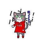 Hiroshima Cat 5 夏(個別スタンプ:1)