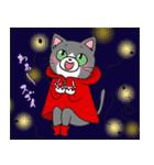 Hiroshima Cat 5 夏(個別スタンプ:8)
