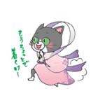 Hiroshima Cat 5 夏(個別スタンプ:12)