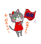 Hiroshima Cat 5 夏(個別スタンプ:39)