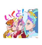 GO!プリンセスプリキュア(個別スタンプ:34)