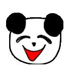 大きな顔のパンダ(個別スタンプ:3)