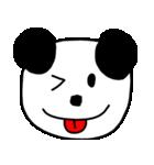 大きな顔のパンダ(個別スタンプ:8)