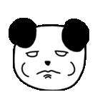 大きな顔のパンダ(個別スタンプ:09)