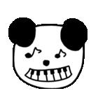大きな顔のパンダ(個別スタンプ:11)