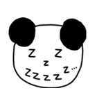 大きな顔のパンダ(個別スタンプ:12)