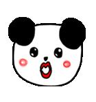 大きな顔のパンダ(個別スタンプ:13)