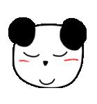 大きな顔のパンダ(個別スタンプ:15)