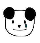大きな顔のパンダ(個別スタンプ:16)