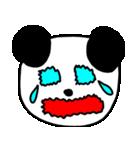 大きな顔のパンダ(個別スタンプ:18)