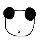 大きな顔のパンダ(個別スタンプ:19)