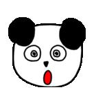 大きな顔のパンダ(個別スタンプ:20)