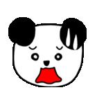 大きな顔のパンダ(個別スタンプ:22)