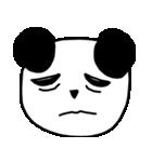 大きな顔のパンダ(個別スタンプ:24)