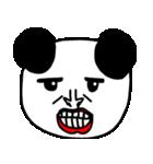 大きな顔のパンダ(個別スタンプ:28)