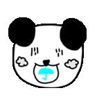 大きな顔のパンダ(個別スタンプ:30)