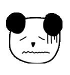 大きな顔のパンダ(個別スタンプ:35)