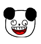 大きな顔のパンダ(個別スタンプ:37)