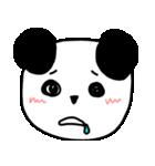大きな顔のパンダ(個別スタンプ:38)