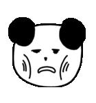 大きな顔のパンダ