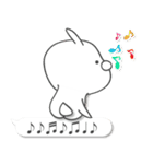 Lサイズ吹き出し うさぎ 2【気遣い入り♪】(個別スタンプ:25)