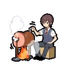 飯テロ男子(個別スタンプ:16)