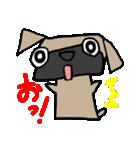 パグ犬2(個別スタンプ:2)
