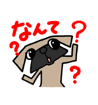 パグ犬2(個別スタンプ:6)