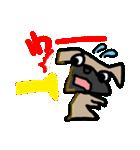 パグ犬2(個別スタンプ:9)