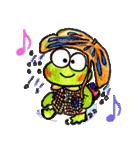 カエルの楽しい毎日(個別スタンプ:02)